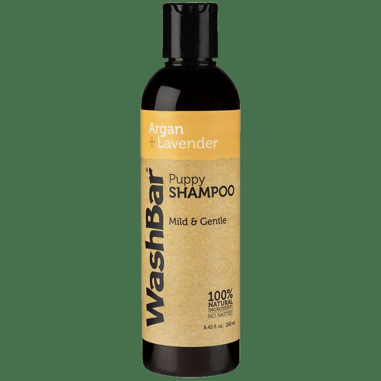 argan lavender puppy shampoo washbar