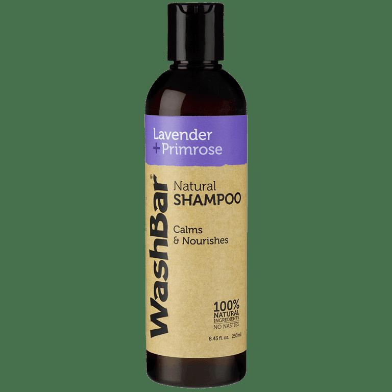 lavender primrose natural shampoo washbar